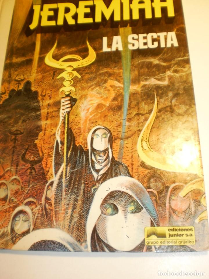 Cómics: jeremiah 5 la secta. grijalbo 1983 color tapa dura (estado normal) - Foto 1 - 198560100