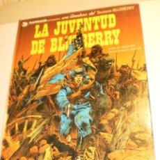 Cómics: TENIENTE BLUEBERRY. LA JUVENTUD DE BLUEBERRY 3. GRIJALBO 1982 TAPA DURA COLOR (ESTADO NORMAL). Lote 198560476