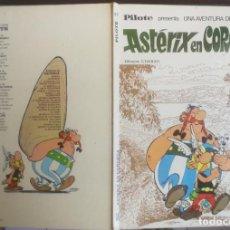 Cómics: ASTÉRIX PILOTE BRUGUERA 1973 - ASTÉRIX EN CÓRCEGA - CON NÚMERO 37 EN EL LOMO - BUEN ESTADO. Lote 198668672
