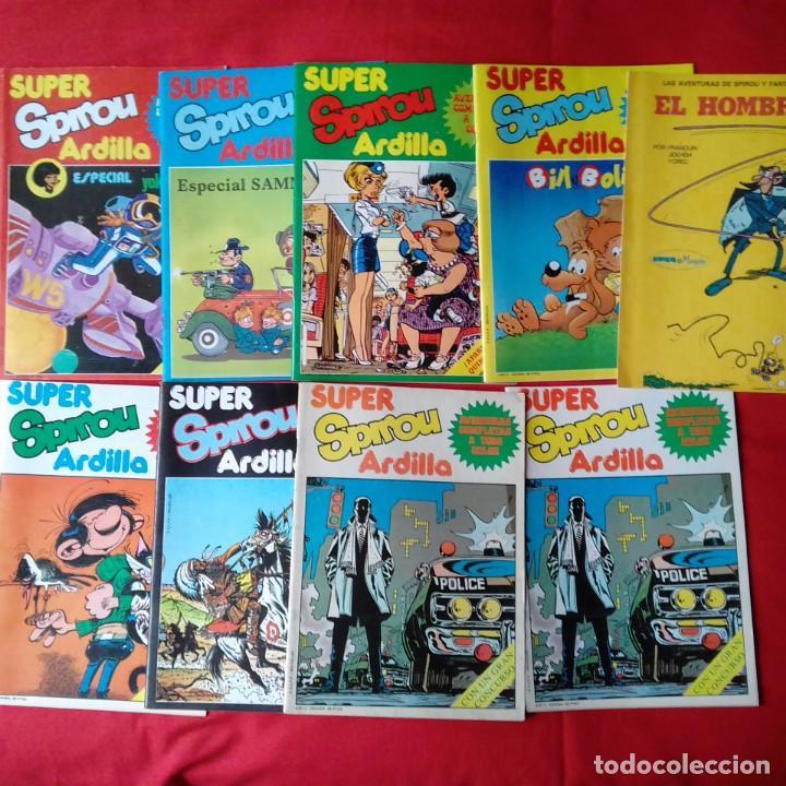 47 COMIC SPIROU: SUPER SPIROU ARDILLA Y SPIROU ARDILLA (Tebeos y Comics - Grijalbo - Spirou)