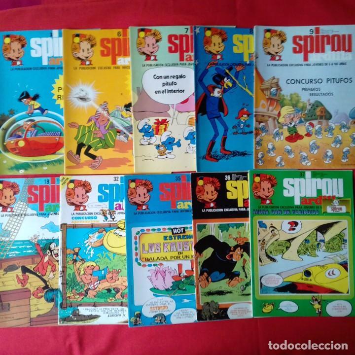 Cómics: 47 COMIC SPIROU: SUPER SPIROU ARDILLA Y SPIROU ARDILLA - Foto 2 - 198751910