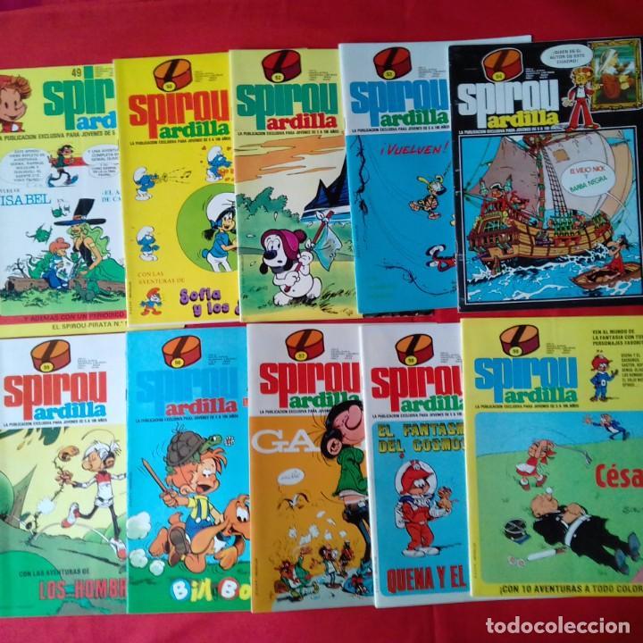 Cómics: 47 COMIC SPIROU: SUPER SPIROU ARDILLA Y SPIROU ARDILLA - Foto 4 - 198751910