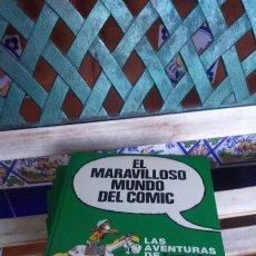 Cómics: EL MARAVILLOSO MUNDO DEL CÓMIC LOTE DE 6 TOMOS. Lote 198949427