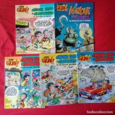 Cómics: TOPE GUAY: CHICHA TATO Y CLODOVEO-MIRLOWE Y VIOLETA: 1, 2, 3, 4, 5. Lote 199137556