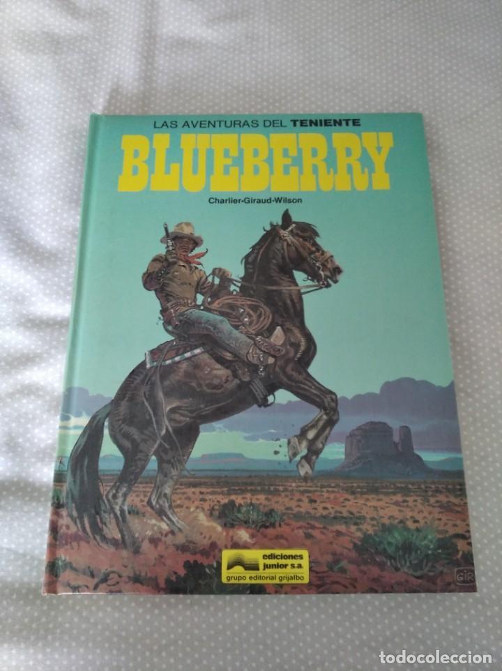 LAS AVENTURAS DEL TENIENTE BLUEBERRY TOMO 7 GRIJALBO/ DARGAUD (EDICIONES JUNIOR S.A.) (Tebeos y Comics - Grijalbo - Blueberry)