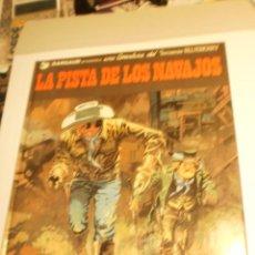 Cómics: TENIENTE BLUEBERRY 22. LA PISTA DE LOS NAVAJOS. GRIJALBO 1985 TAPA DURA COLOR (BUEN ESTADO). Lote 199380411