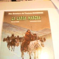 Cómics: TENIENTE BLUEBERRY 20. LA LARGA MARCHA. GRIJALBO 1982 TAPA DURA COLOR (BUEN ESTADO). Lote 199380551