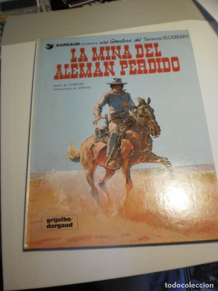 TENIENTE BLUEBERRY 1. LA MINA DEL ALEMÁN PERDIDO. GRIJALBO 1981 TAPA DURA COLOR (BUEN ESTADO) (Tebeos y Comics - Grijalbo - Blueberry)