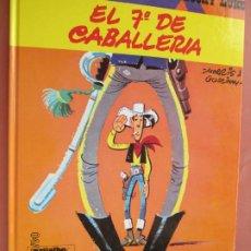 Cómics: EL 7º DE CABALLERIA ,LUCKY LUKE -DARGAUD EDICIONES GRIJALBO - MORRIS , GOSCINNY. Lote 199400320