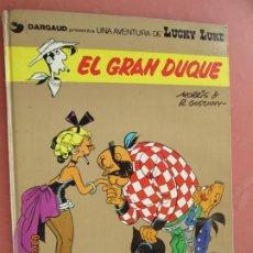 Cómics: EL GRAN DUQUE , LUCKY LUKE 1977 TRAD. VICTOR MÓRA JUNIOR GRIJALBO- . Lote 199401362