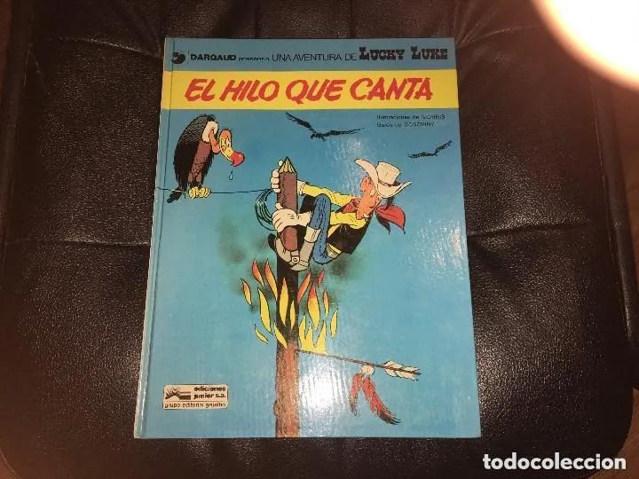 LUCKY LUKE - NÚMERO 10 - EL HILO QUE CANTA - GRIJALBO (Tebeos y Comics - Grijalbo - Lucky Luke)