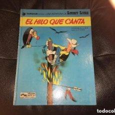 Cómics: LUCKY LUKE - NÚMERO 10 - EL HILO QUE CANTA - GRIJALBO. Lote 199508497