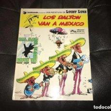 Comics : LUCKY LUKE - NÚMERO 8 - LOS DALTON VAN A MÉXICO - GRIJALBO. Lote 199508950