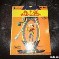 Cómics: LUCKY LUKE - NÚMERO 7 - EL 7º DE CABALLERÍA - GRIJALBO. Lote 199510167