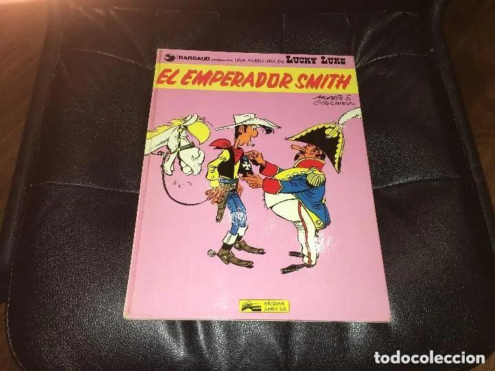 LUCKY LUKE - NÚMERO 1 - EL EMPERADOR SMITH - GRIJALBO (Tebeos y Comics - Grijalbo - Lucky Luke)