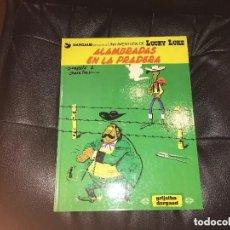 Comics : LUCKY LUKE - NÚMERO 31 - ALHAMBRADAS EN LA PRADERA - GRIJALBO. Lote 199517253