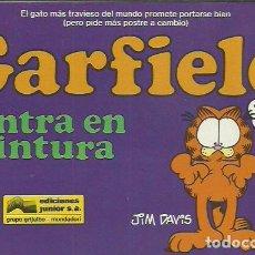 Cómics: JIM DAVIS-GARFIELD 23.GARDFIELD ENTRA EN CINTURA.EDICIONES JUNIOR.1991.. Lote 199831268