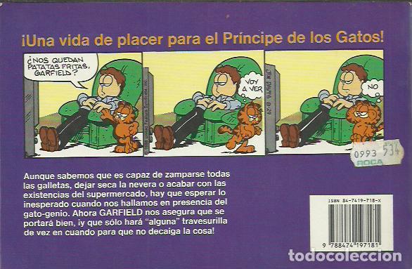 Cómics: Jim Davis-Garfield 23.Gardfield entra en Cintura.Ediciones Junior.1991. - Foto 2 - 199831268