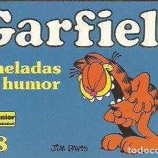 Cómics: JIM DAVIS-GARFIELD 38.GARDFIELD TONELADAS DE HUMOR.EDICIONES JUNIOR.1999.. Lote 199831470