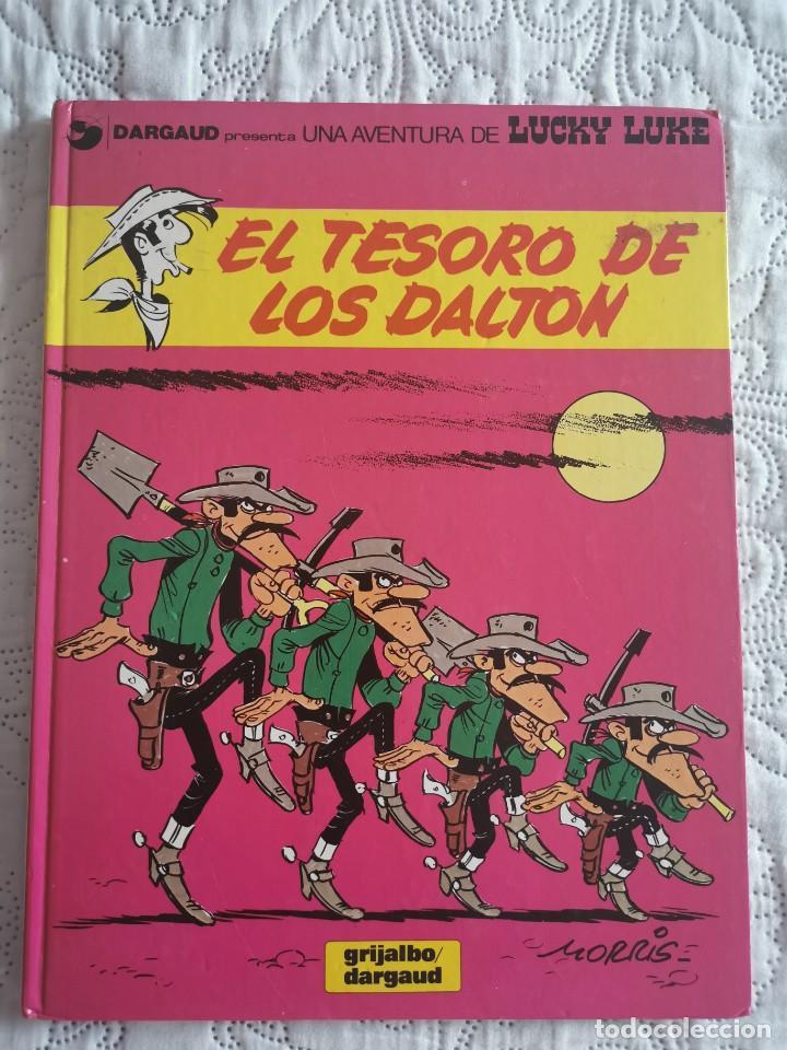 UNA AVENTURA DE LUCKY LUKE - EL TESORO DE LOS DALTON - N. 19 (Tebeos y Comics - Grijalbo - Lucky Luke)