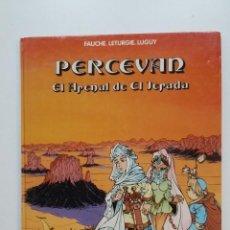 Comics : PERCEVAN Nº 5. EL ARENAL DE EL JERADA - FAUCHÉ LETURGIE LUGUY. GRIJALBO. TDKC51. Lote 200079971