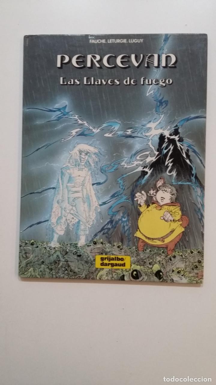 PERCEVAN Nº 6. LAS LLAVES DE FUEGO. GRIJALBO. FAUCHE, LETURGIE, LUGUY. TDKC51 (Tebeos y Comics - Grijalbo - Percevan)