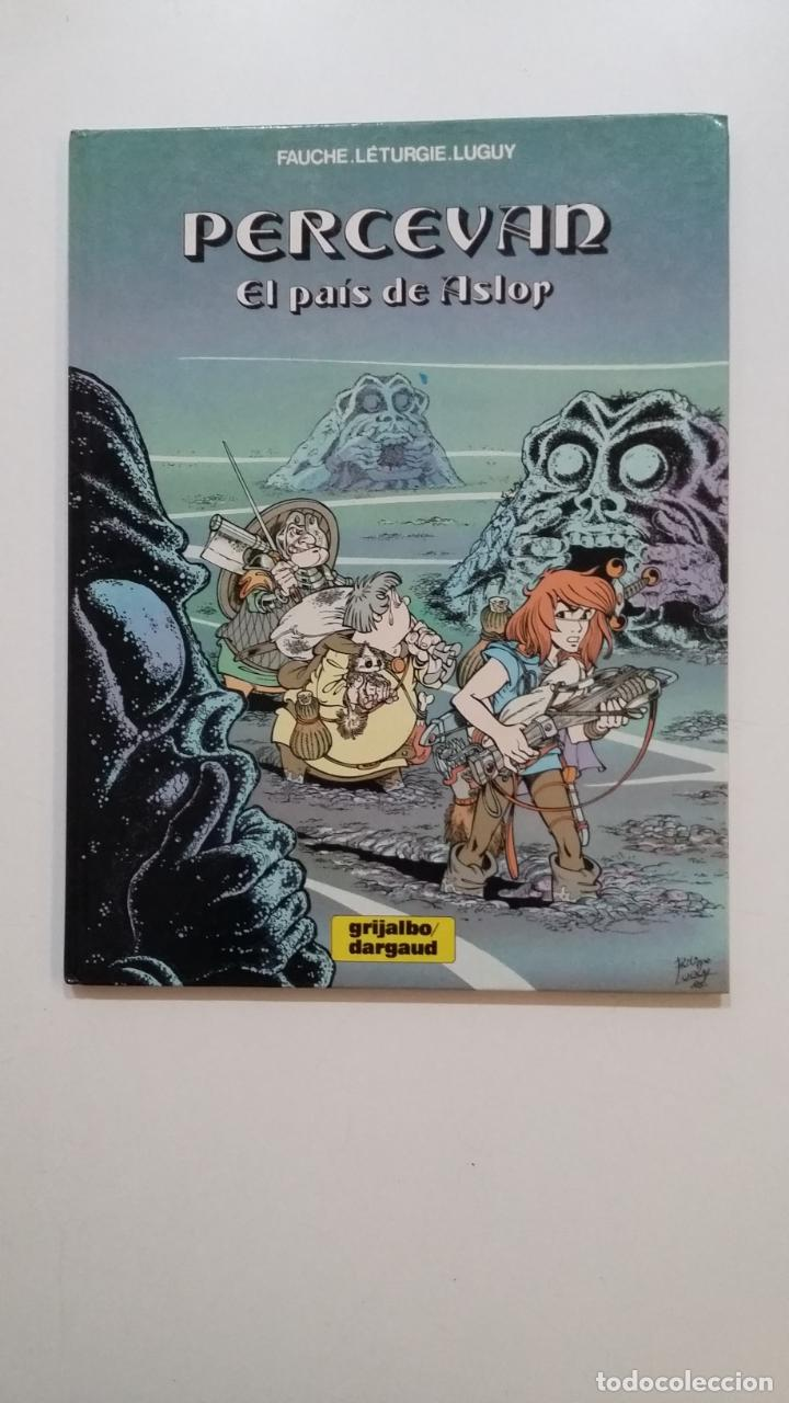 PERCEVAN Nº 4 - EL PAÍS DE ASLOR - GRIJALBO FAUCHE / LÉTURGIE / LUGUY - TDKC51 (Tebeos y Comics - Grijalbo - Percevan)