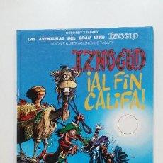 Cómics: LAS AVENTURAS DEL GRAN VISIR IZNOGUD - IZNOGUD AL FIN CALIFA Nº 18. GRIJALBO. TDKC51. Lote 200080767