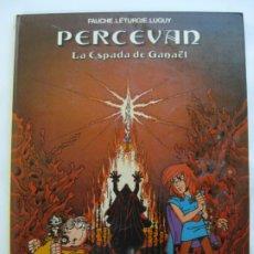 Comics : PERCEVAN Nº3 - GRIJALBO 1986. Lote 200109717
