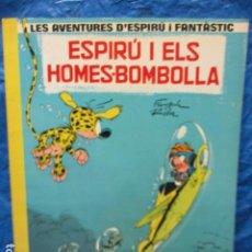 Comics : LES AVENTURES D´ESPIRU I FANTASTIC- ESPIRU I ELS HOMES - BOMBOLLA N. 13 - CATALA. Lote 200188883