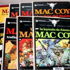 Cómics: MAC COY (GOURMELEN & H. PALACIOS), TOMOS NºS 01,02,07,08,09,10,12 Y 21. Lote 200858283