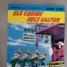 Cómics: LUCKY LUKE 48 ELS COSINS DELS DALTON 1992 GRIJALBO CATALÀ. Lote 201200087