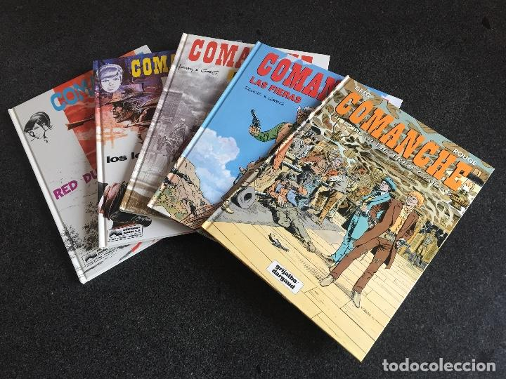 COMANCHE COMPLETA 5 TOMOS - HERMANN-GREG - JUNIOR / GRIJALBO / DARGAUD - 1992 - ¡NUEVA! (Tebeos y Comics - Grijalbo - Comanche)