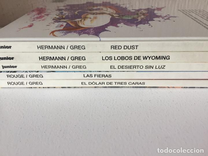 Cómics: COMANCHE COMPLETA 5 TOMOS - HERMANN-GREG - JUNIOR / GRIJALBO / DARGAUD - 1992 - ¡NUEVA! - Foto 3 - 201310480