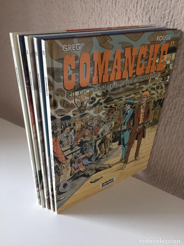 Cómics: COMANCHE COMPLETA 5 TOMOS - HERMANN-GREG - JUNIOR / GRIJALBO / DARGAUD - 1992 - ¡NUEVA! - Foto 4 - 201310480