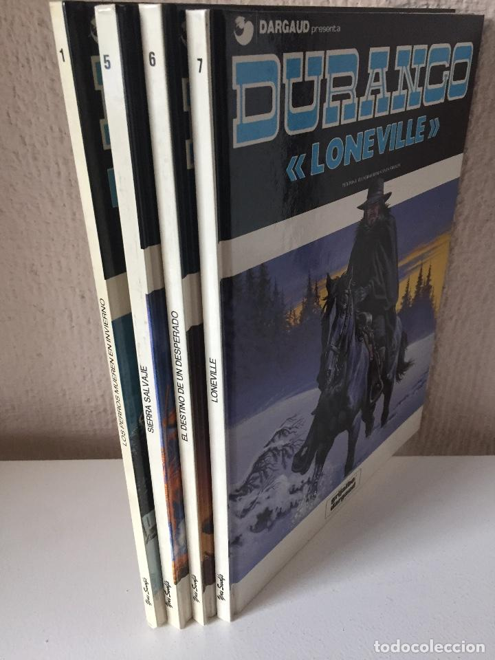 Cómics: DURANGO COMPLETA 4 TOMOS - YVES SWOLFS - GRIJALBO / DARGAUD - 1989 - ¡NUEVA! - Foto 2 - 201310633