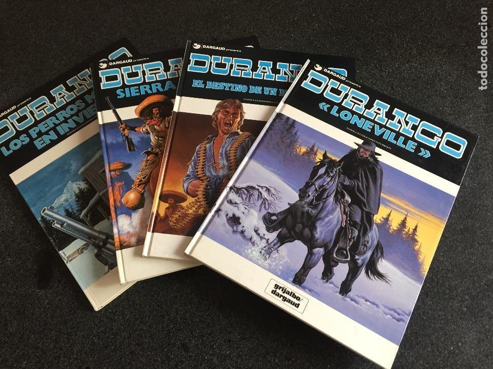 DURANGO COMPLETA 4 TOMOS - YVES SWOLFS - GRIJALBO / DARGAUD - 1989 - ¡NUEVA! (Tebeos y Comics - Grijalbo - Durango)
