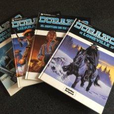 Cómics: DURANGO COMPLETA 4 TOMOS - YVES SWOLFS - GRIJALBO / DARGAUD - 1989 - ¡NUEVA!. Lote 201310633
