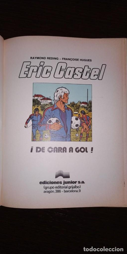 Cómics: ERIC CASTEL, ¡DE CARA AL GOL! EDICIONES JUNIOR. - Foto 2 - 201474078