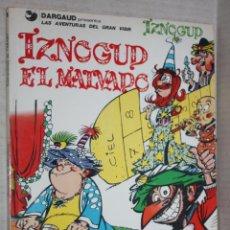 Cómics: IZNOGUD EL MALVADO --LAS AVENTURAS DEL GRAN VISIR IZNOGUD Nº5--. Lote 201539502
