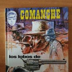 Cómics: COMANCHE. LOS LOBOS DE WYOMING. HERMAN & GREG. EDITORIAL GRIJALBO. 1ª EDICIÓN. Lote 202002696