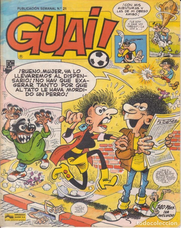 COMIC GUAI ! Nº 21 ED.JUNIOR (GRIJALBO) 1986 (Tebeos y Comics - Grijalbo - Otros)