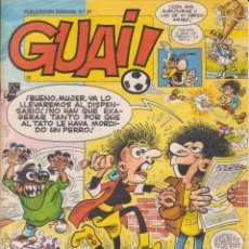 Cómics: COMIC GUAI ! Nº 21 ED.JUNIOR (GRIJALBO) 1986. Lote 202245440