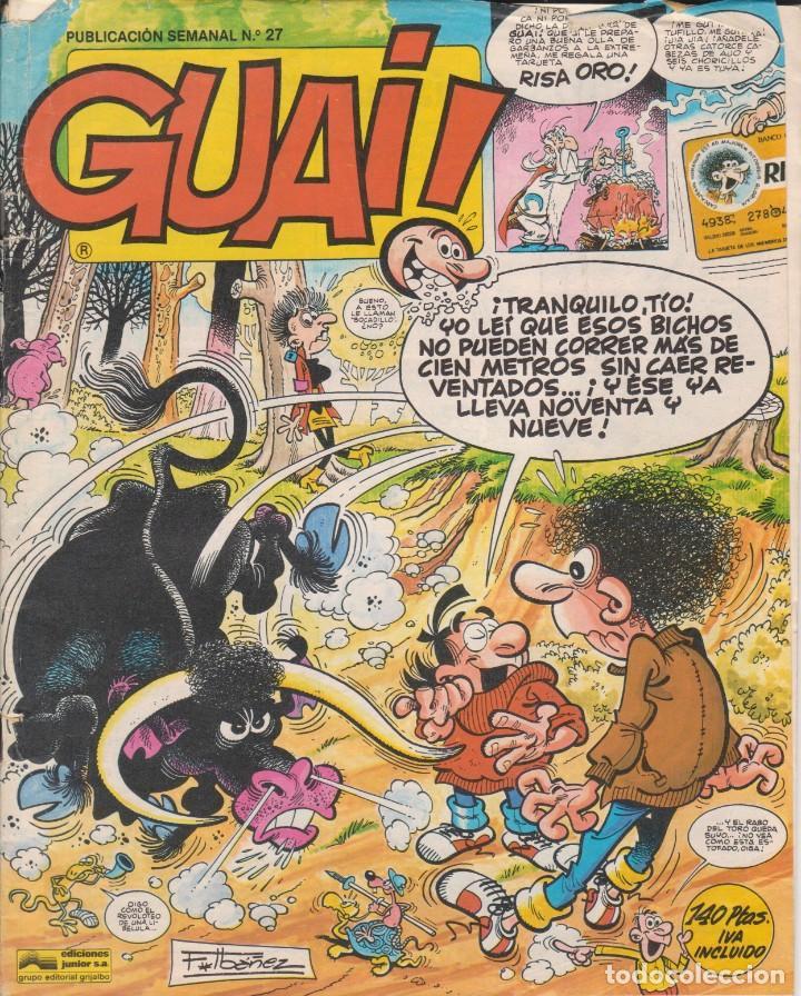COMIC GUAI ! Nº 27 ED.JUNIOR (GRIJALBO) 1986 (Tebeos y Comics - Grijalbo - Otros)