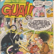 Cómics: COMIC GUAI ! Nº 27 ED.JUNIOR (GRIJALBO) 1986. Lote 202246881