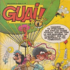 Cómics: COMIC GUAI ! Nº 34 ED.JUNIOR (GRIJALBO) 1986. Lote 202247535