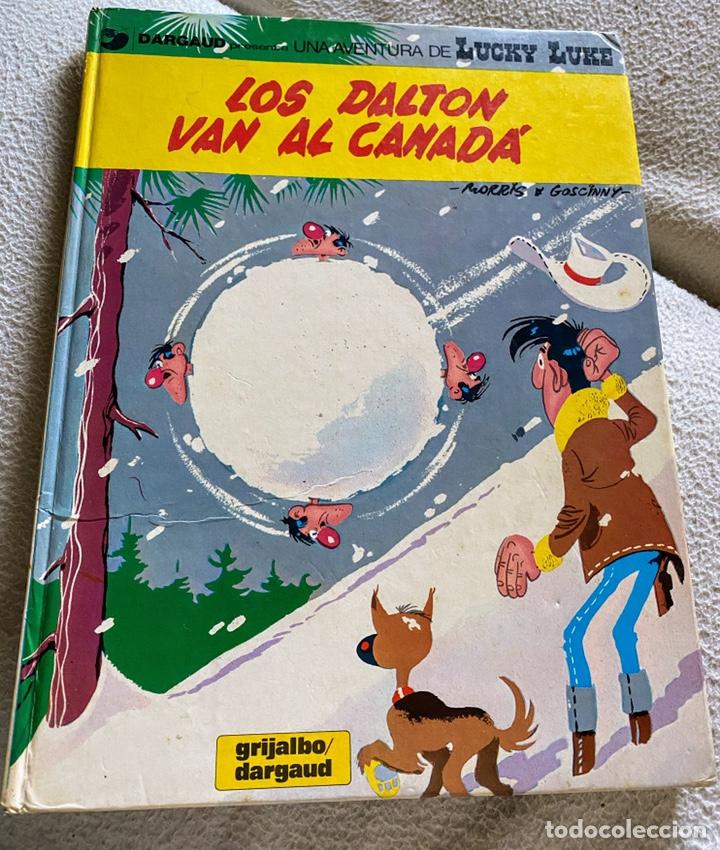 CÓMIC LUCKY LUKE LOS DALTON VAN AL CANADA (Tebeos y Comics - Grijalbo - Lucky Luke)