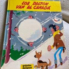 Cómics: CÓMIC LUCKY LUKE LOS DALTON VAN AL CANADA. Lote 202683747