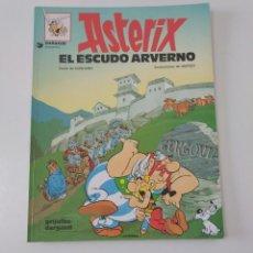 Cómics: ASTÉRIX EL ESCUDO AVERNO NÚMERO 11 GRIJALBO/DARGAUD TAPA BLANDA 1995. Lote 202792970