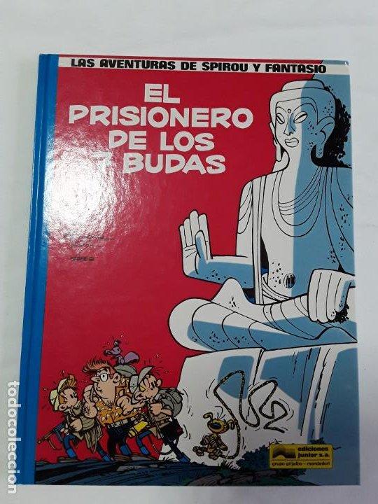 SPIROU 12 EL PRISIONERO DE LOS 7 BUDAS , GRIJALBO , NUEVO, (Tebeos y Comics - Grijalbo - Spirou)